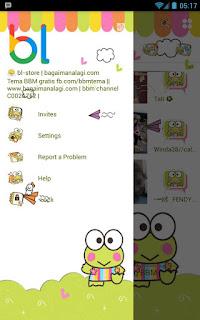 BBM Mod Keroppi v3.0.1.25 Apk | BBM WhatsApp Mod apk