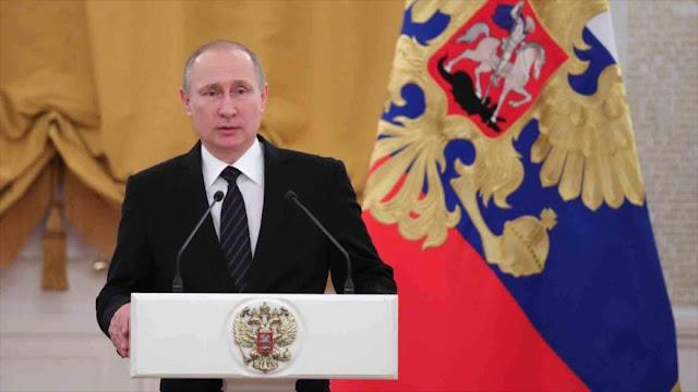 Putin deplora 'proteccionismo oculto' de EEUU y la Unión Europea