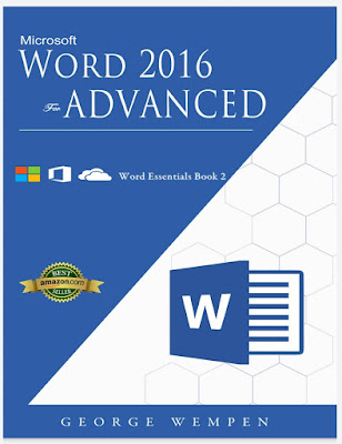 [Free ebook]Advanced Microsoft Word 2016: Word Essentials Book 2 (MSword)