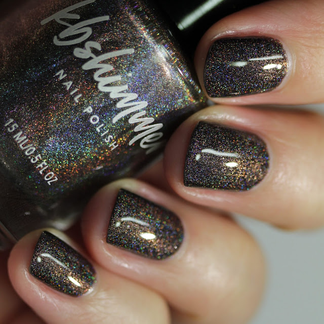 KBShimmer Twist & Stout swatch by Streets Ahead Style