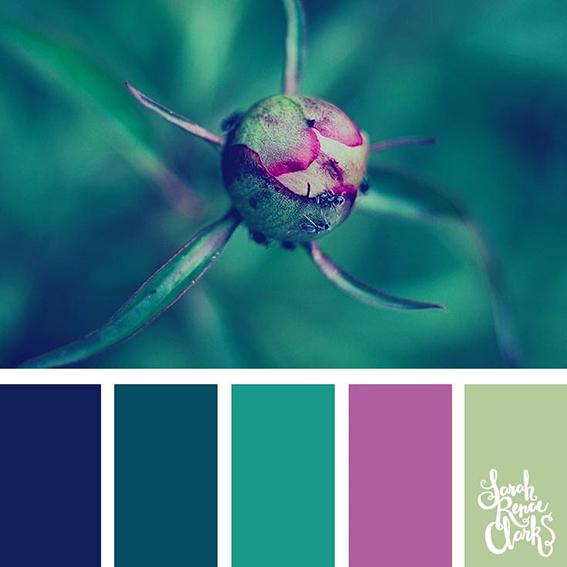 Quilt colour palette