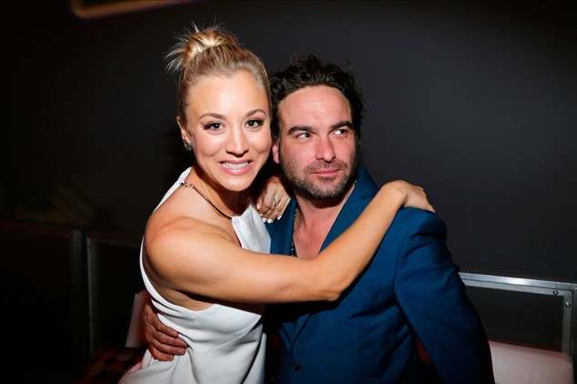 Kaley Cuoco and Johnny Galecki: Snuggle up as best friends