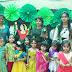 यूरो किड्स में बच्चो के साथ टीचर ने मनाया हरयाली तीज उत्सव