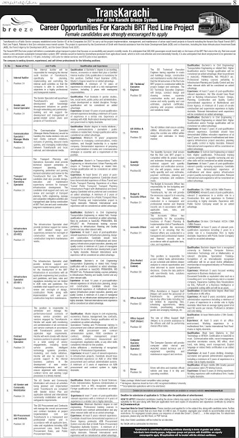 Karachi-BRT-Red-Line-Project-Job-Opportunities-2021-Latest-February-2021