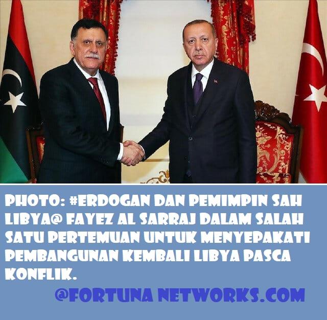 Presiden RT Erdoğan mengancam akan mengambil alih Libya dari tangan pemberontak Haftar secara paksa
