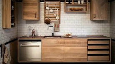 Desain Model Kitchen Set Minimalis Terbaru Hanya DI Furniturerus.Com