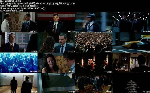 Los Agentes del Destino DVDRip Español Latino Descargar 1 Link
