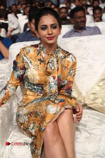 Actress Rakul Preet Singh Stills in Short Dress at Dhruva Pre Release Function  0042.JPG
