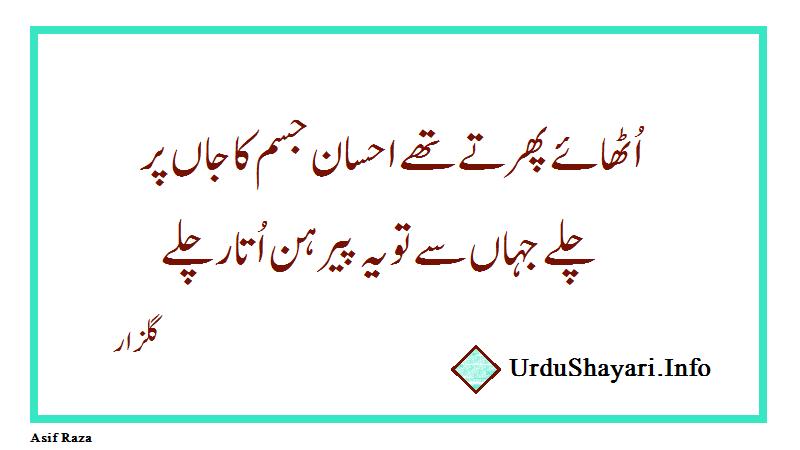Gulzar Poetry In Urdu 2 Line - urdu shayari status گلزار شاعری