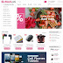 Theme blogspot bán hàng chuẩn seo bizmark v1
