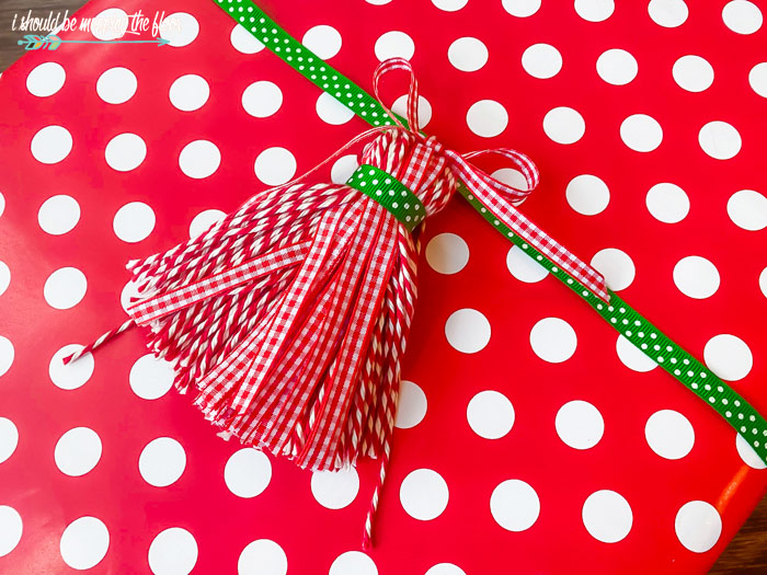 Tassels on Gifts