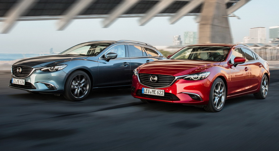 Updated 2017 Mazda6 Arrives In The UK With More Tech Improved
