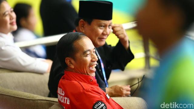 Saat Prabowo dan Jokowi Tepis Fitnah