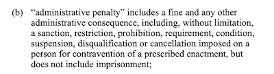Definition of Administrative Penalty
