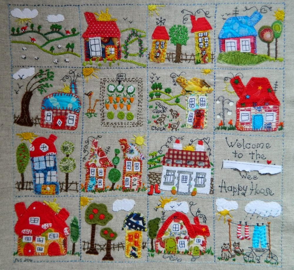 Happy Houses sampler