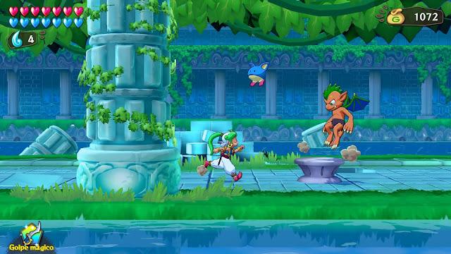 Asha in Monster World - Ruinas