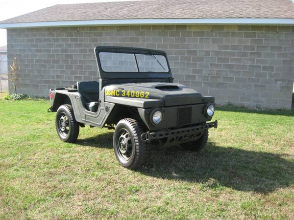 1962 AMC Mighty Mite USMC