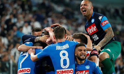 Highlight Juventus 0-1 Napoli, 21 April 2018