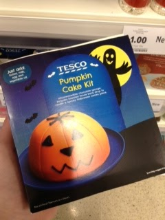 tesco pumpkin cake