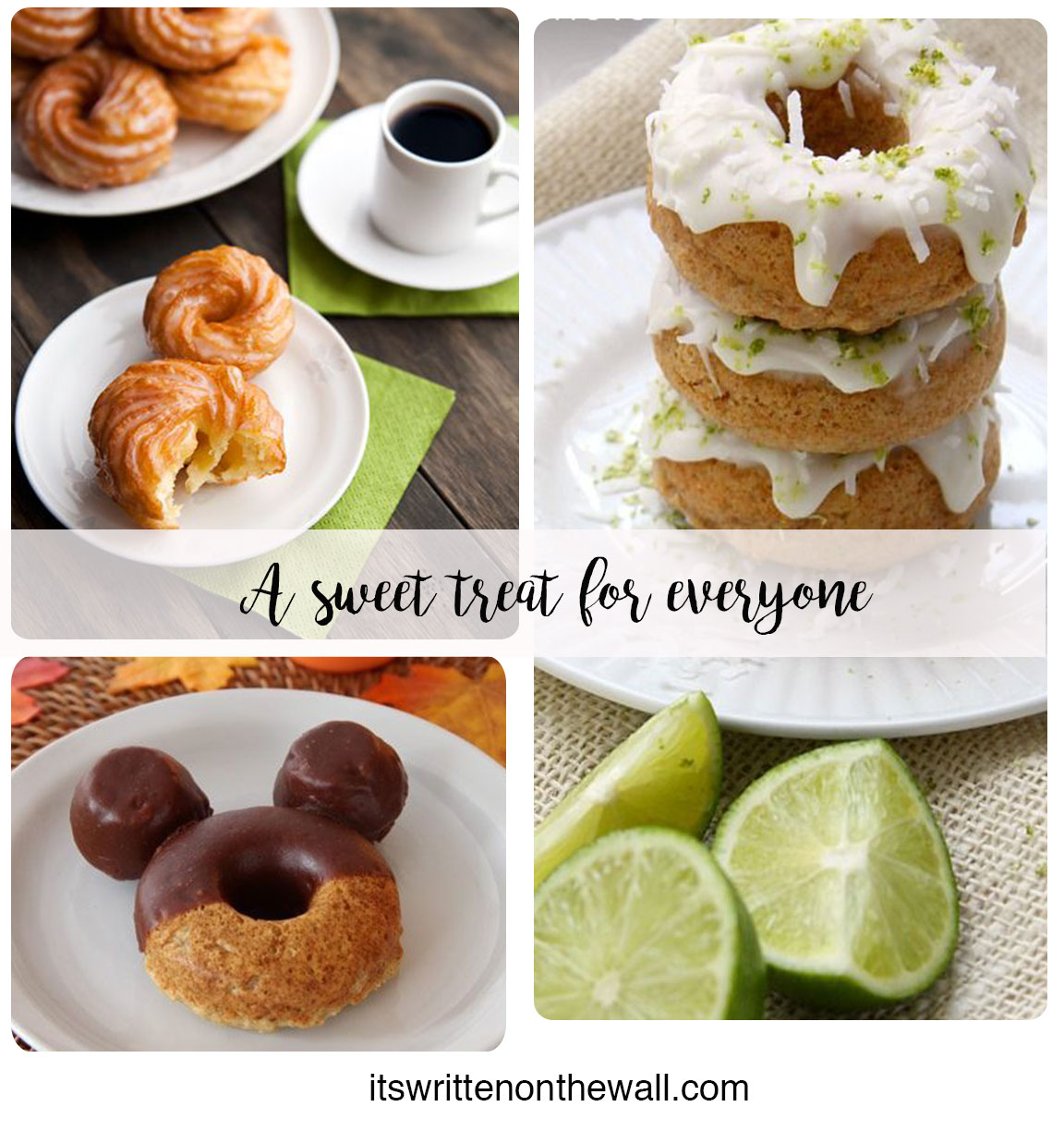 It S Written On The Wall 50 Yummy Donut Recipes You Can