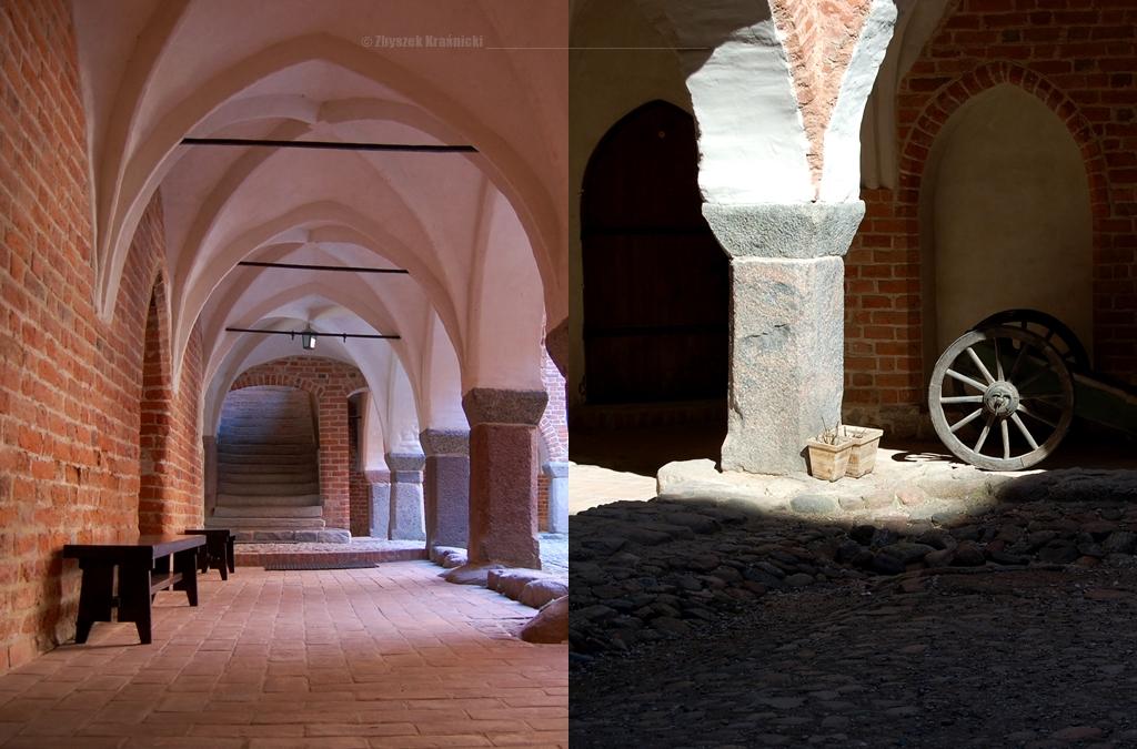 Zamek w Lidzbarku Warmińskim, krużganki
