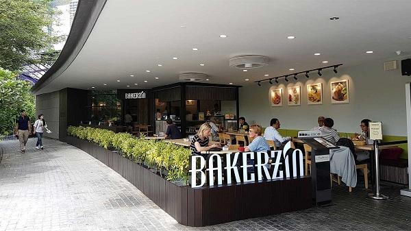 BAKERZIN cửa hàng kết hợp giữa cà phê và bánh