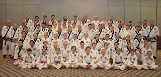 All of the students at the 24th Moo Sul Kwan Black Belt Symposium