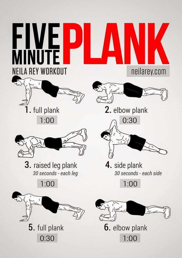 hover_share weight loss - Five minute plank