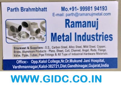 RAMANUJ METAL INDUSTRIES - 99981 94193
