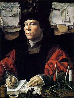 "Jan Gossaert, ""Portrait of a Young Banker"", c. 1530."