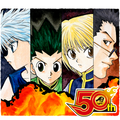 HUNTERXHUNTER J50th