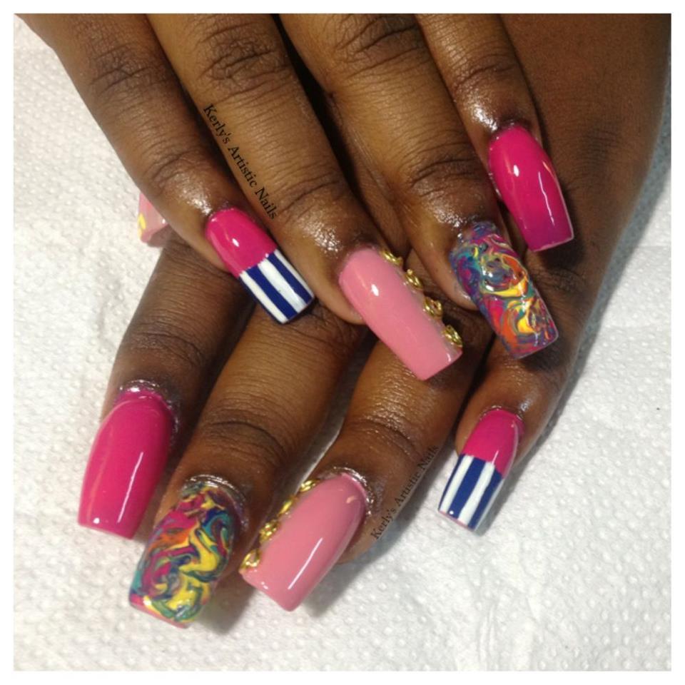 Nicki Minaj Pointy Nail Designs | www.imgkid.com - The ...