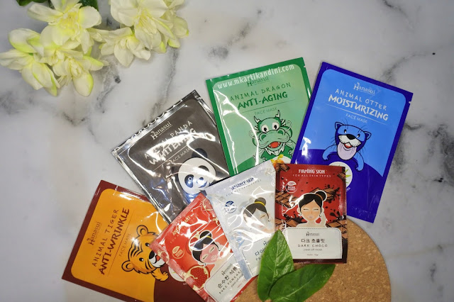 Hanasui Animal Sheet Mask Peel off mask review