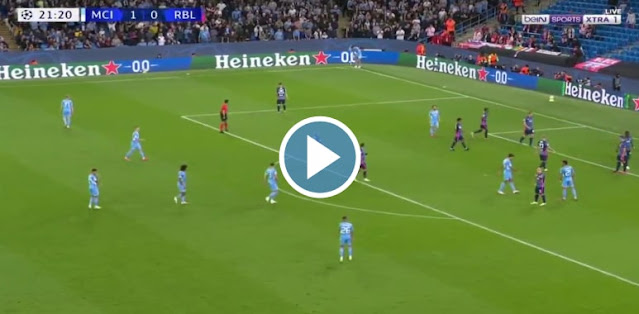 Manchester City vs RB Leipzig Live Score