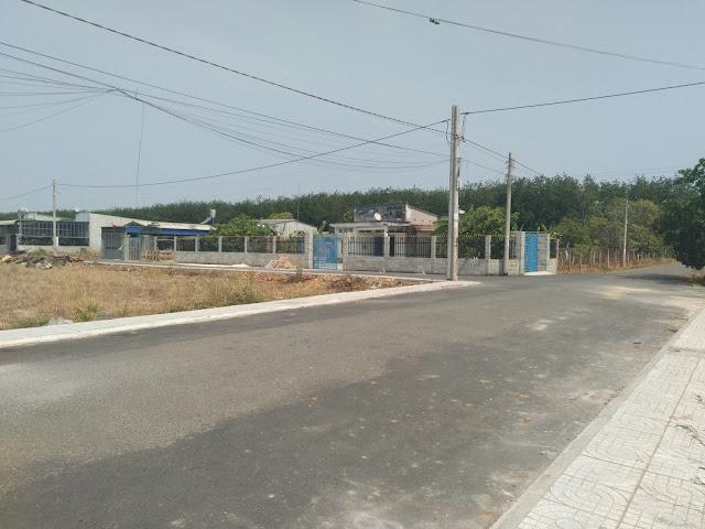 Hình ảnh đất KP4 trung tâm phường Hắc Dịch Phú Mỹ đối diện KCN Samsung 43ha