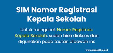 Login LPPKS - Cara Cek Online SIM Nomor Registrasi Kepala Sekolah (NRKS) Terbaru