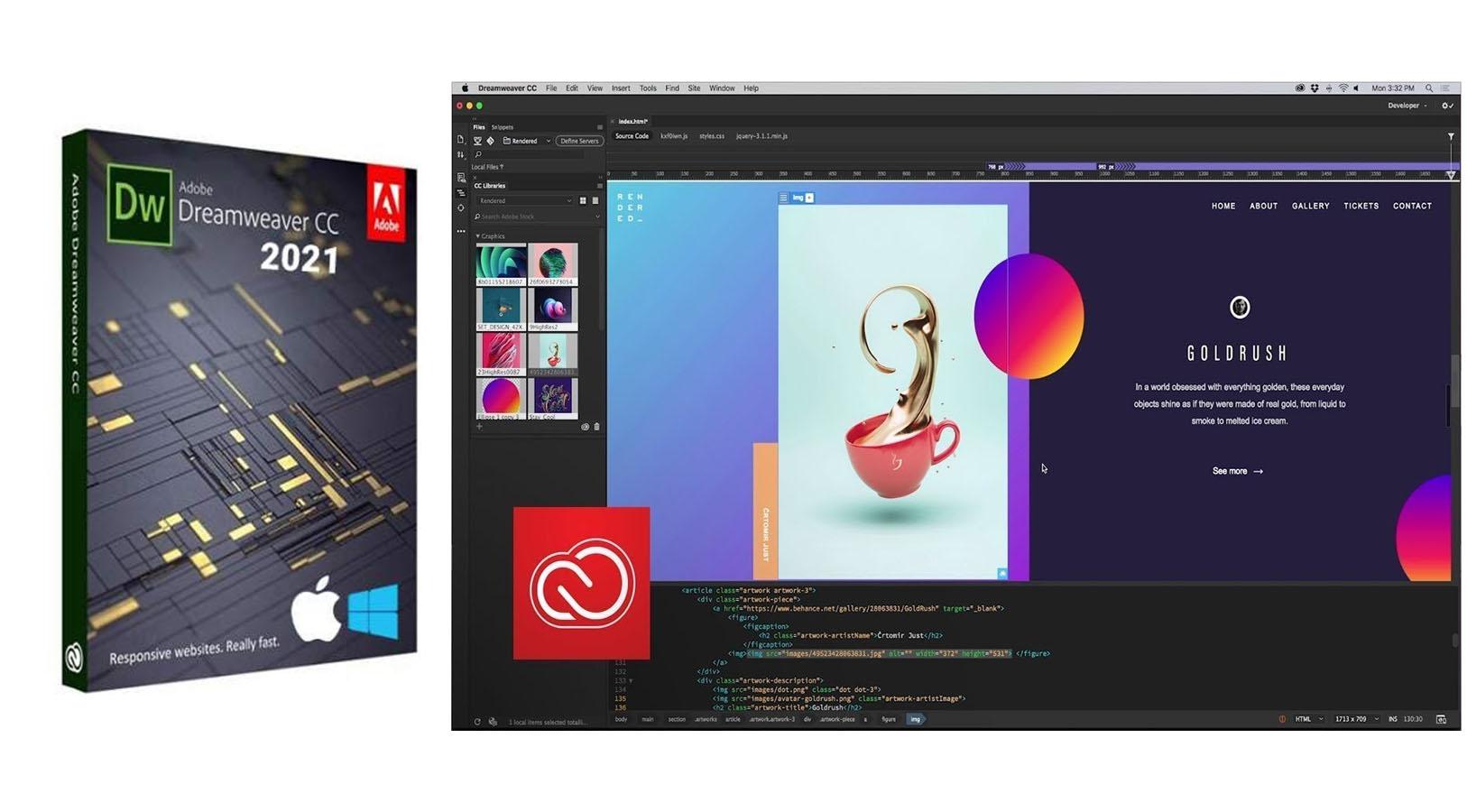 Cara Install Adobe Dreamweaver CC2021 Full Version