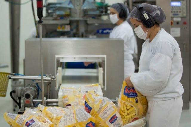 auxiliar de produção alimentos