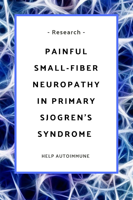 Painful Small‐Fiber Neuropathy in Primary Sjogren's Syndrome
