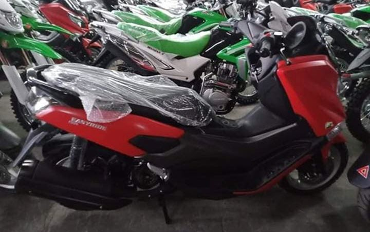 Xe tay ga 'Made in Philippines' lộ diện, thiết kế giống Yamaha NMax