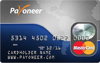 uso de la tarjeta Payoneer para sacar dinero de Paypal