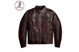 Model Jaket Kulit Harley Davidson Terbaru 2020