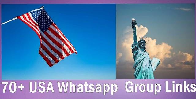 70+ USA Whatsapp Group links   American Whatsapp Group Links List   Whatsapp Group Join   Whatsapp