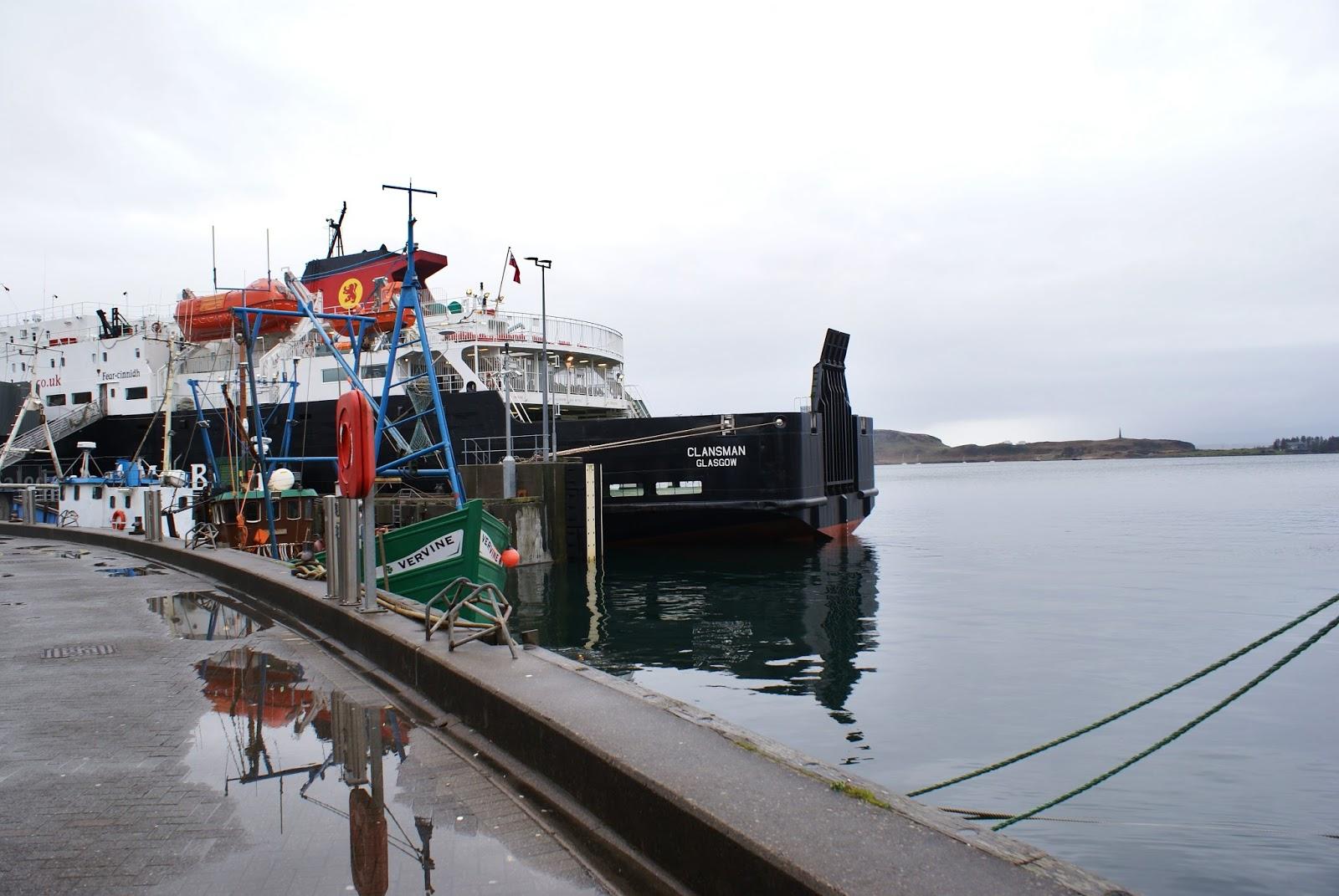 boat oban argyll highlands scotland uk great britain camomille blend