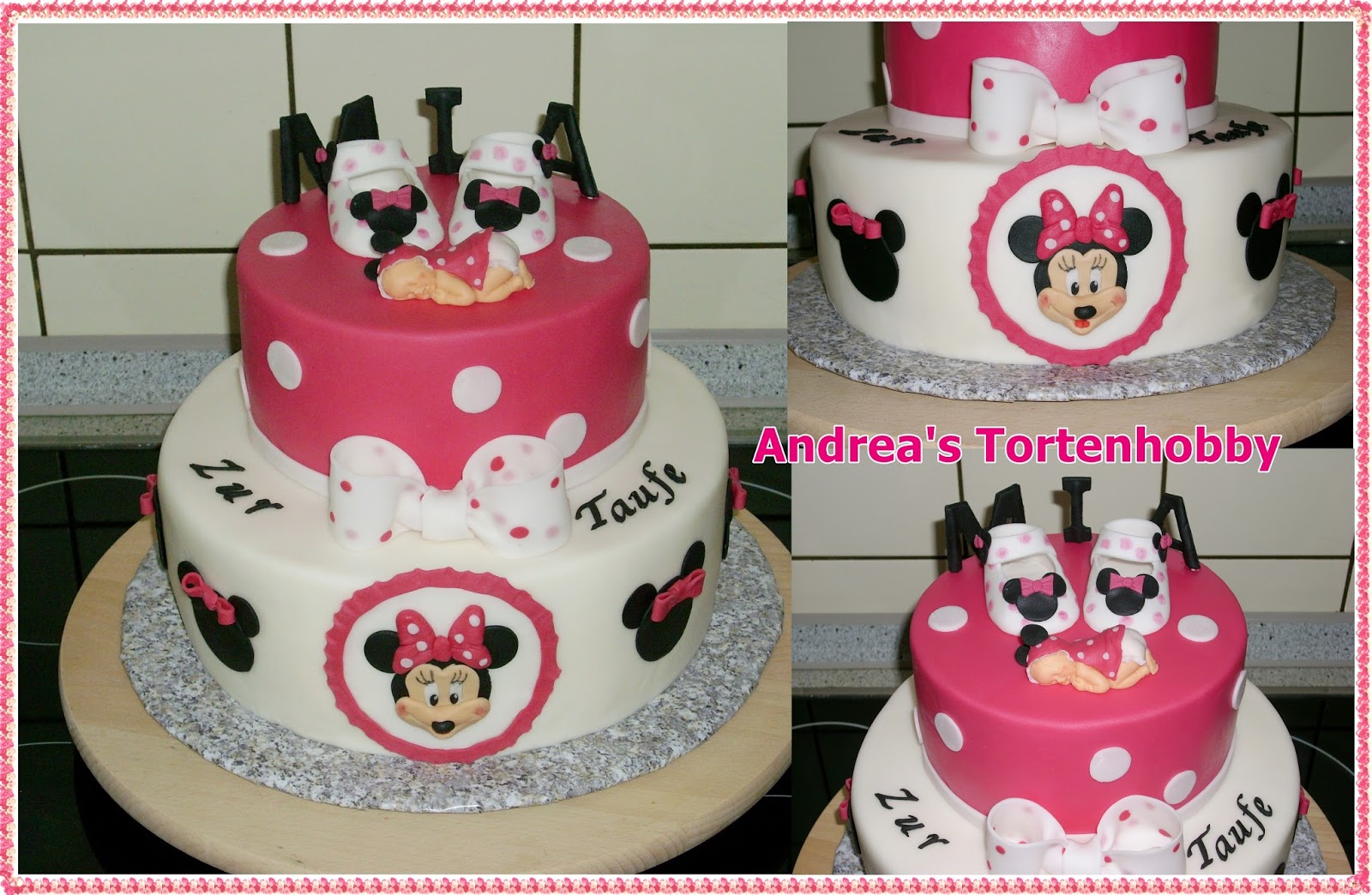 Minnie Maus Kuchen Selber Machen How To Make A Minnie Mouse Cake