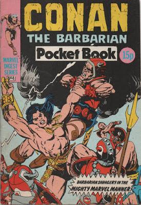 Conan the Barbarian pocket book #4