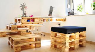 Удобная и прочная мебель из европоддонов