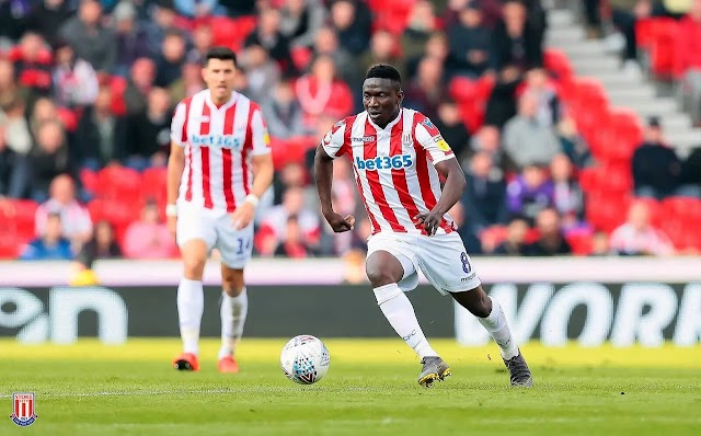 "Nigeria Striker ""Oghenekaro Etebo"" Joins Spanish club Getafe On 6 Month Loan from Stoke City"