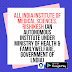 All India Institute of Medical Sciences. Rishikesh (An Autonomous institute under Ministry of Health & FamilyWelfare, Government of lndia)