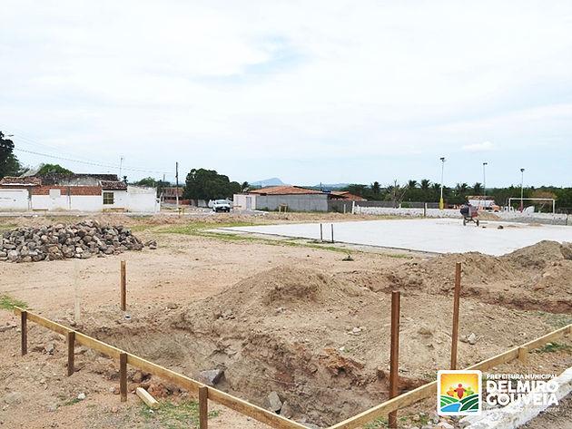Lagoinha: construção de quadra é iniciada e sonho da população começa a se tornar realidade